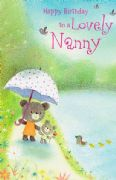 Nanny Umbrella Card